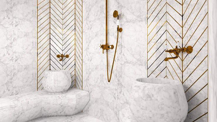 Gümüşcü Mimarlık – Sinan Başyazıcıoğlu Konut: modern tarz Banyo