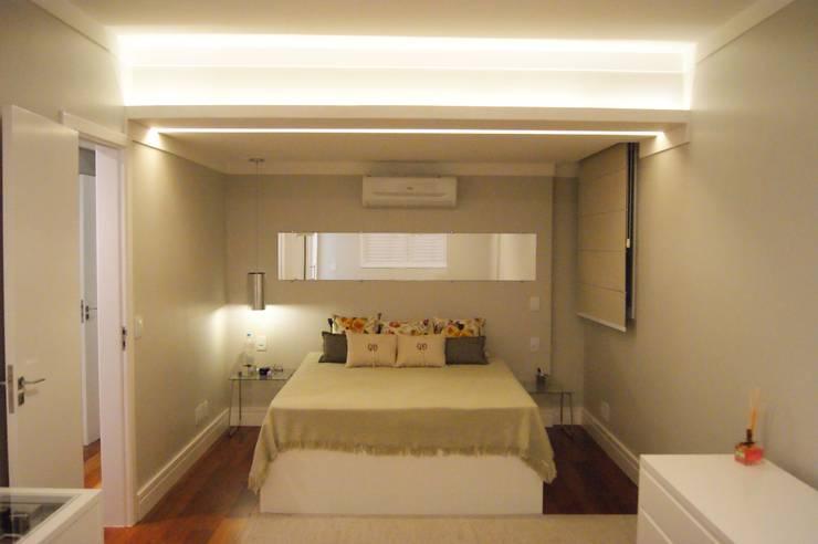 Apartamento: Quartos  por Lozí - Projeto e Obra