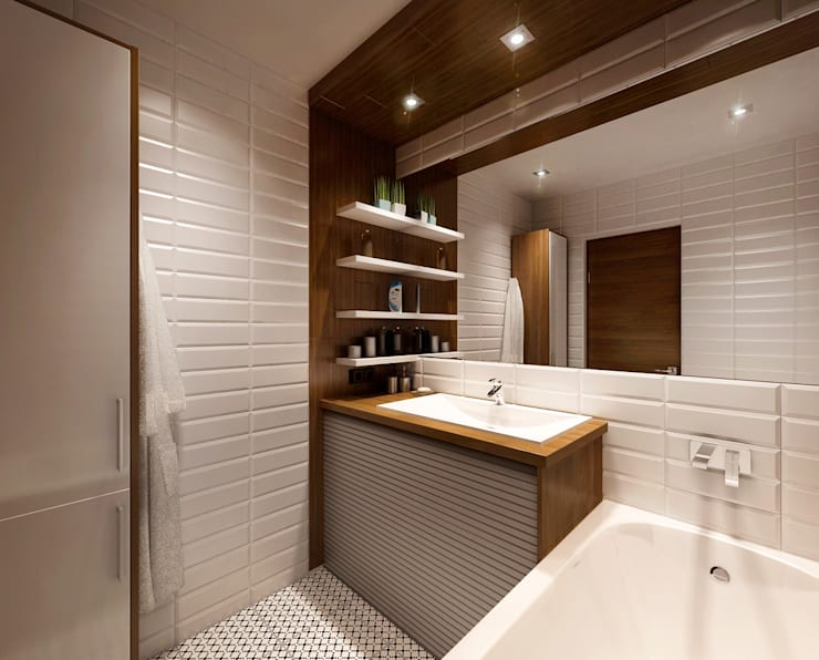 Bathroom by M5 studio
