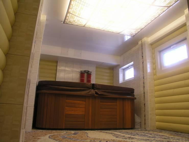 Баня на Николиной Горе: Спа в . Автор – архитектурная мастерская МАРТ