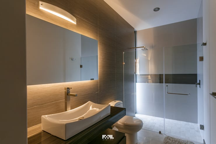 Bathroom by 2M Arquitectura