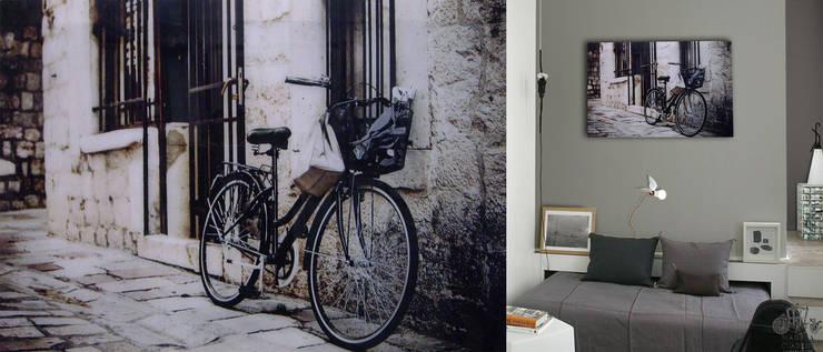 BICICLETA: Paredes y pisos de estilo  por MADESA