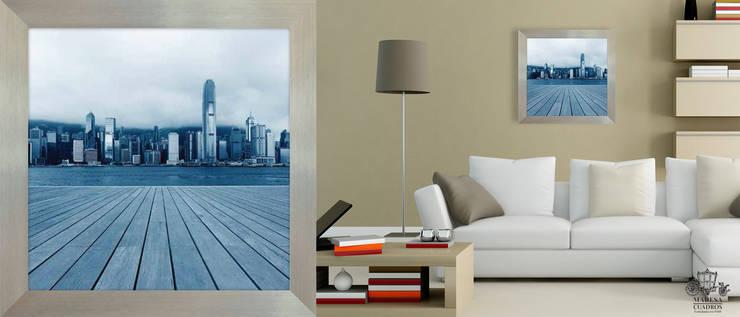 NY AZUL: Paredes y pisos de estilo  por MADESA