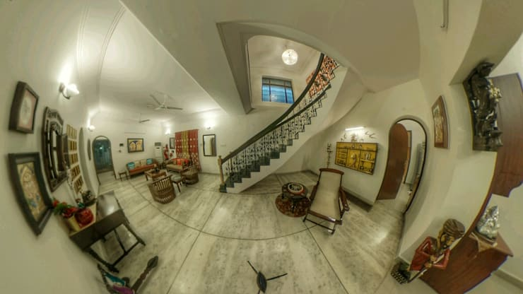 Living Room: classic Living room by Karpita Virtual Reality Studio
