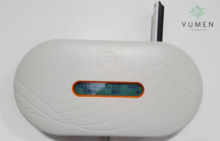Sistema de monitoreo en tiempo real Casas industriales de Vumen Industrial
