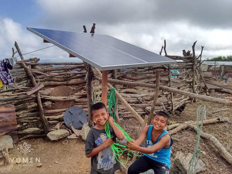 Creando sonrisas Casas rurales de Vumen Rural