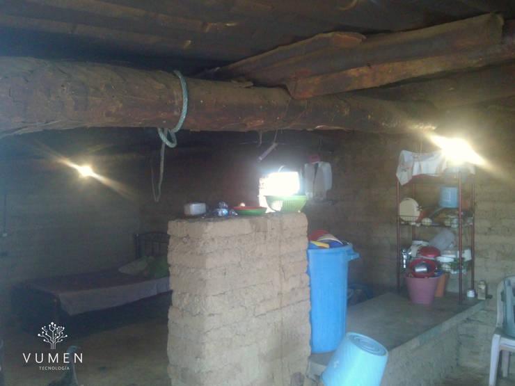 Iluminando comunidades Casas rurales de Vumen Rural
