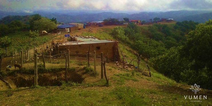 Acercando la tecnología a quién más lo necesita Casas rurales de Vumen Rural