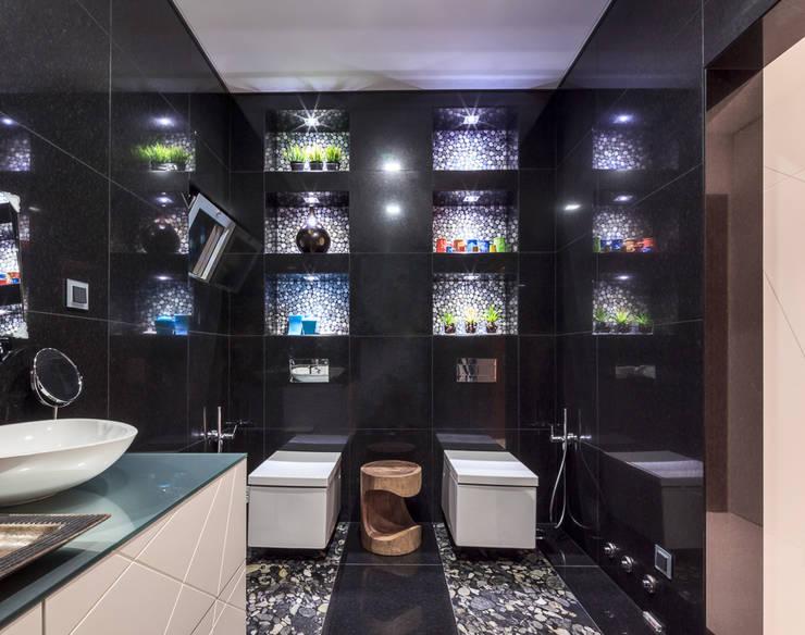 Moradia Algarve 2013: Casas de banho modernas por Atelier  Ana Leonor Rocha