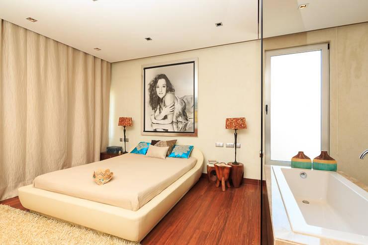 غرفة نوم تنفيذ Atelier  Ana Leonor Rocha