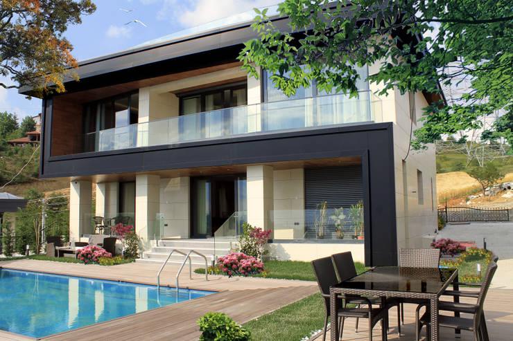 50GR Mimarlık – SERDİVAN VİLLALARI:  tarz Evler
