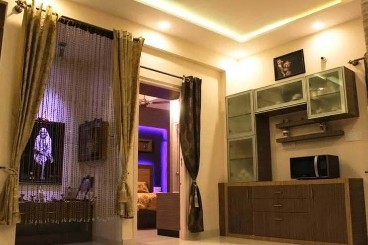 Chambre de style  par Rubenius Interiors,