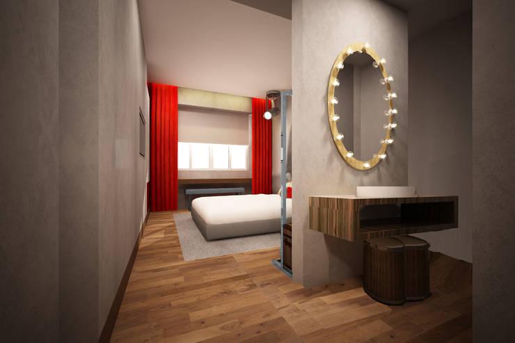 Hotel em Lisboa 2016: Hotéis  por Atelier  Ana Leonor Rocha