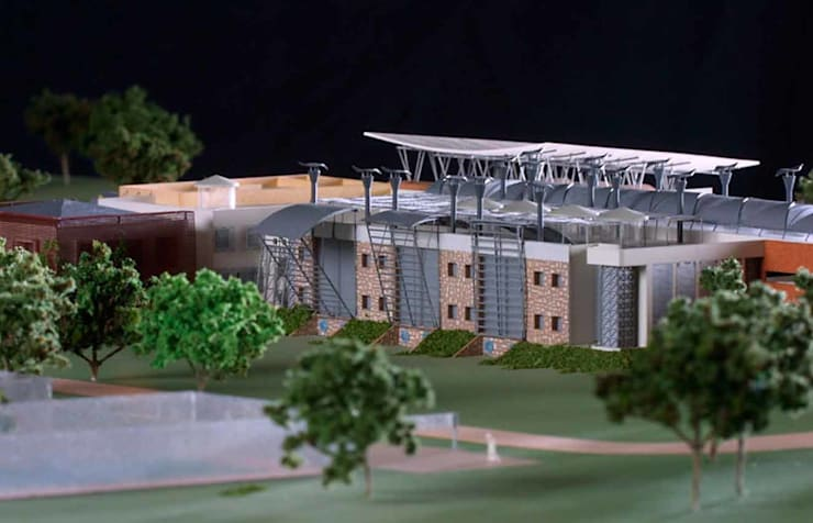 Botswana Bureau of Standards:  Office buildings by Environment Response Architecture, Eclectic
