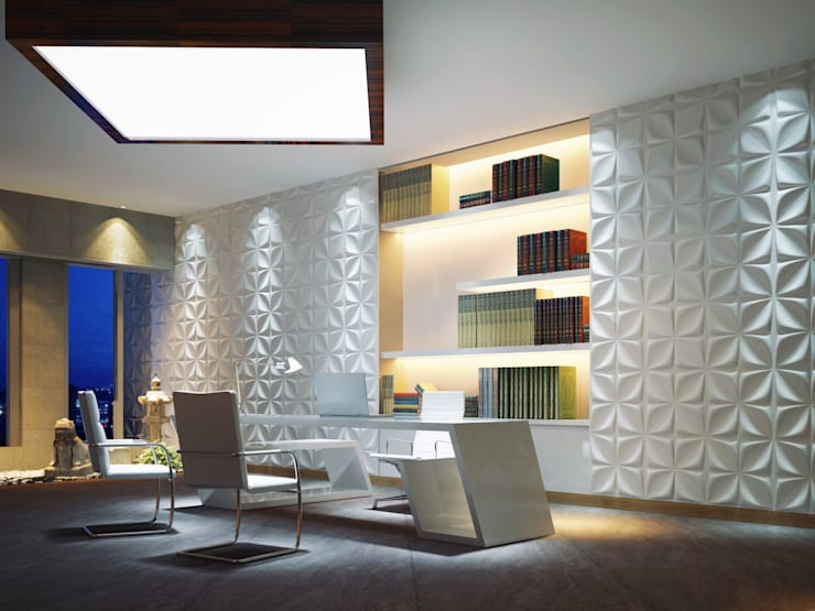 Aryl 3D Wall Panel by Twinx Interiors Modern