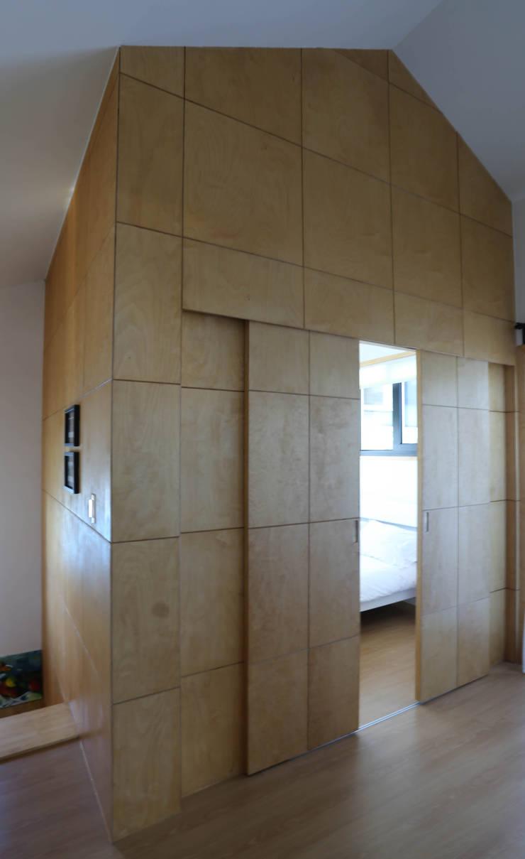 별아도: 아키제주 건축사사무소의  침실,한옥