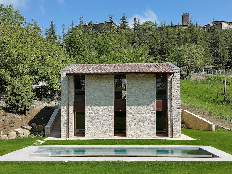 Houses by Stefano Zaghini Architetto