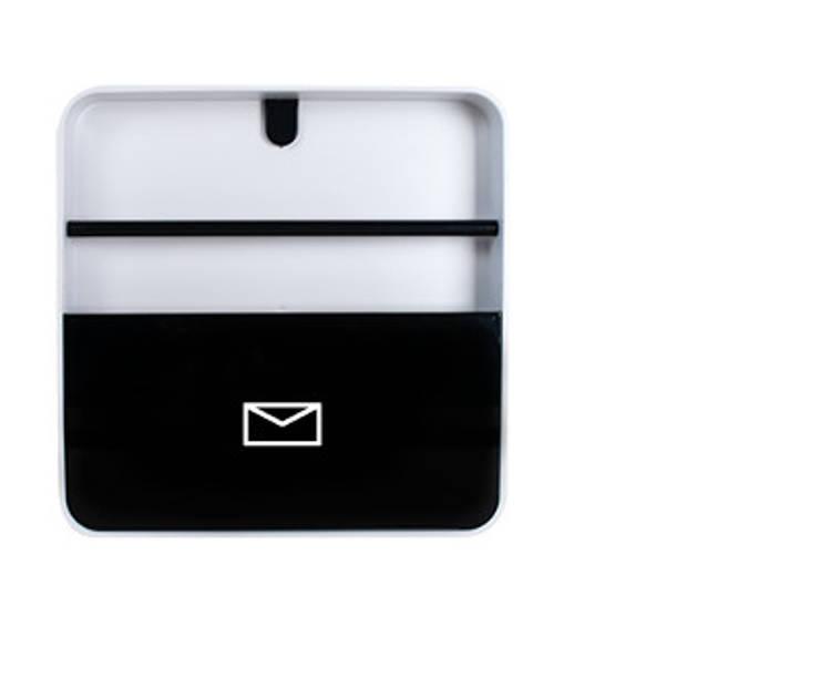 Porta Documentos Preto: Casa  por Ditto Housewares
