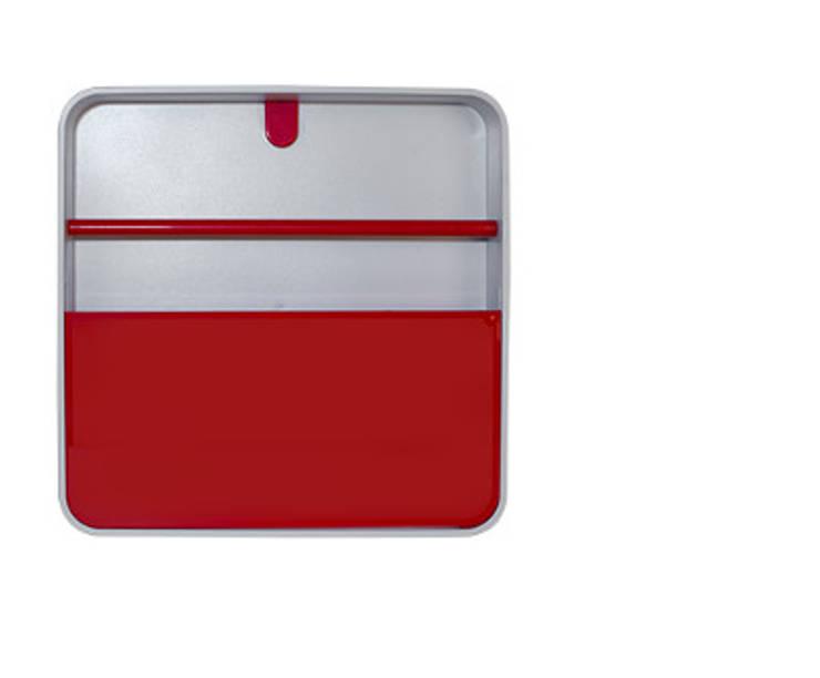 Porta Documentos Vermelho: Casa  por Ditto Housewares