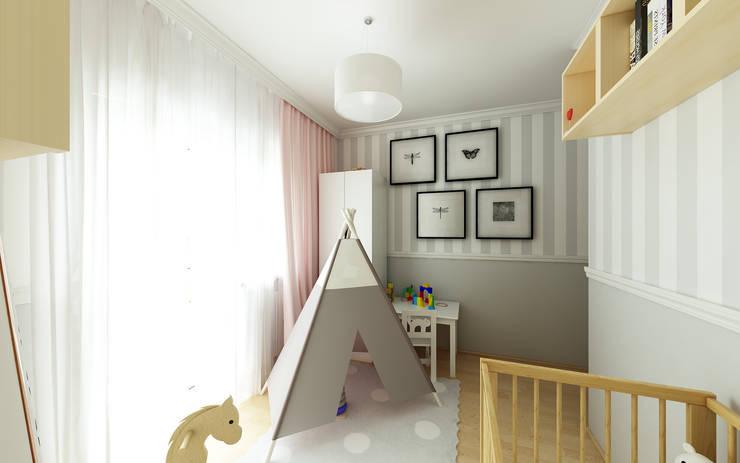 PRZYTULNY DOM NA WZGÓRZU: styl , w kategorii Pokój dziecięcy zaprojektowany przez malee