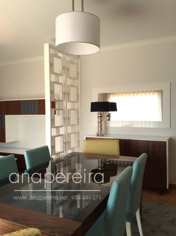 Comedor de estilo  de Atelier Ana Pereira Arquitetura e Decoração de Interiores