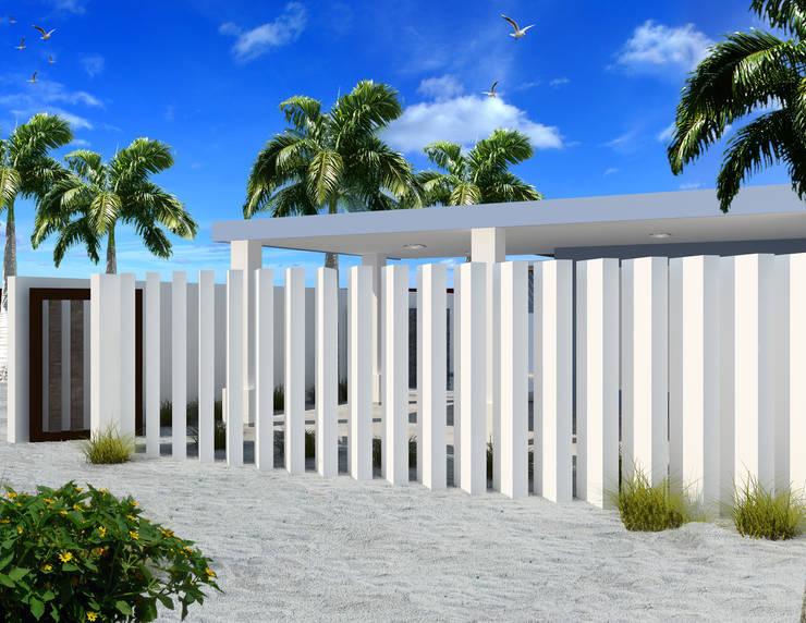 """PROYECTO REMODELACIÓN """"CASA PB11"""":  de estilo  por PORTO Arquitectura + Diseño de Interiores"""