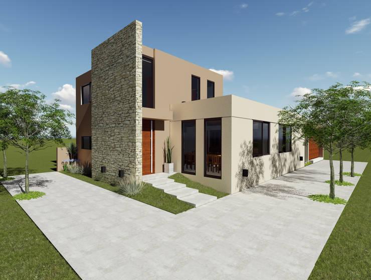 Ingreso: Casas de estilo  por Florencia Tascón - Arquitecta