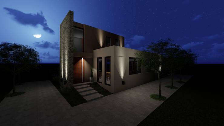 Propuesta de iluminación: Casas de estilo  por Florencia Tascón - Arquitecta