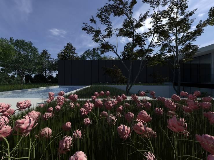 Habitação AJ: Jardins  por ARTEQUITECTOS