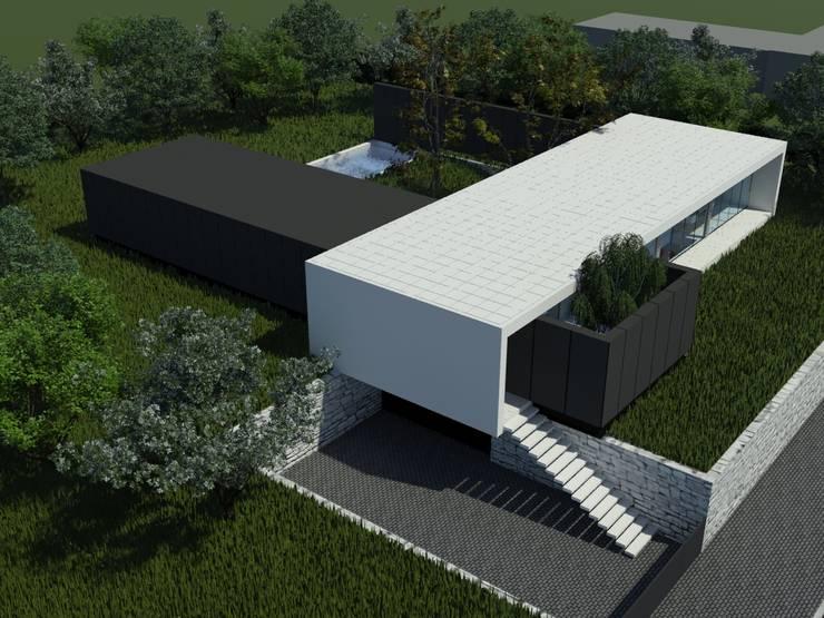 Habitação AJ: Casas  por ARTEQUITECTOS