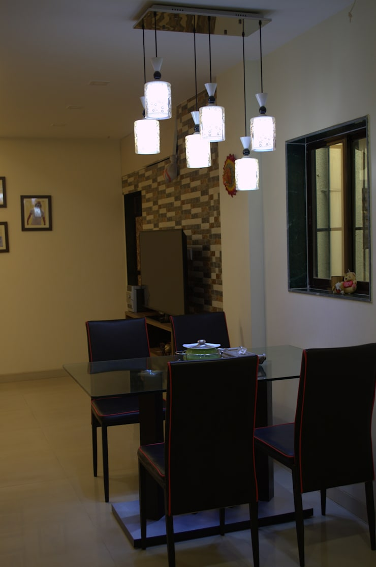 Dining Area:  Dining room by Olive Roof