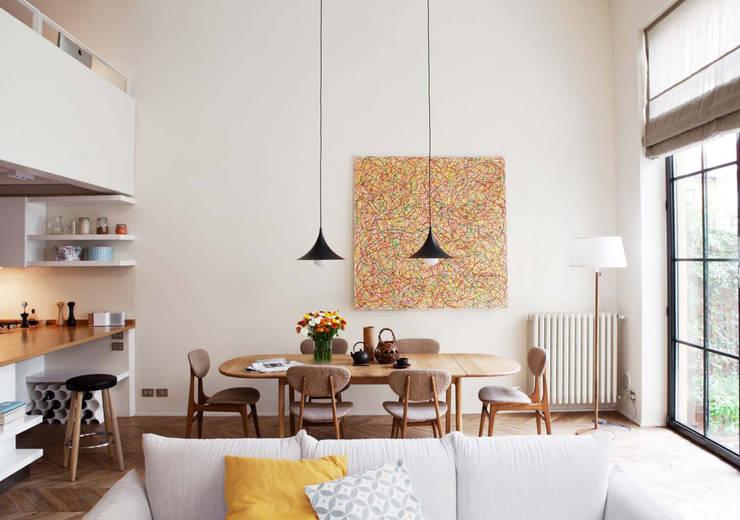 Comedores de estilo  por Fabio Azzolina Architetto