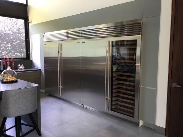 Küche von AParquitectos