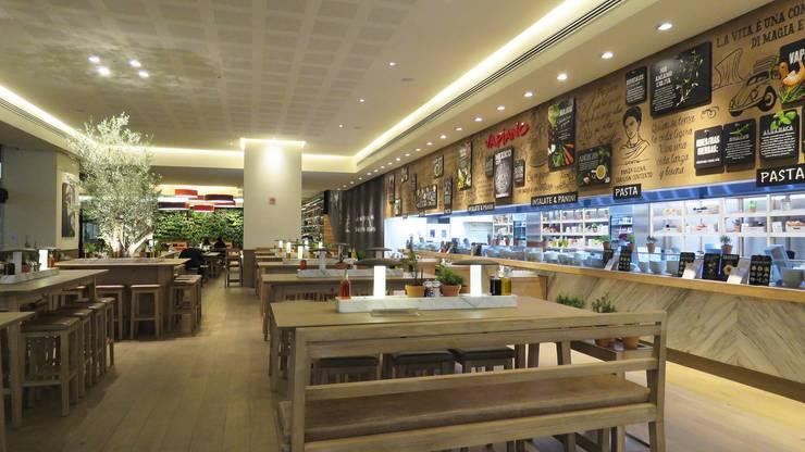 Vapiano Tlalnepantla: Restaurantes de estilo  por Sulkin Askenazi