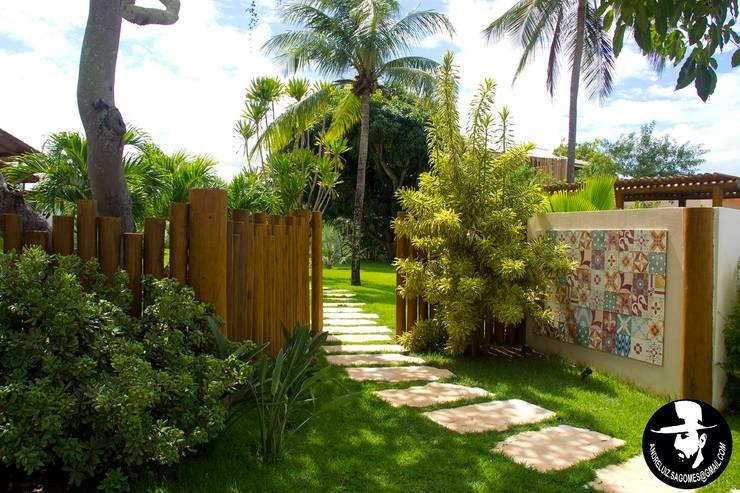 حديقة تنفيذ Tânia Póvoa Arquitetura e Decoração