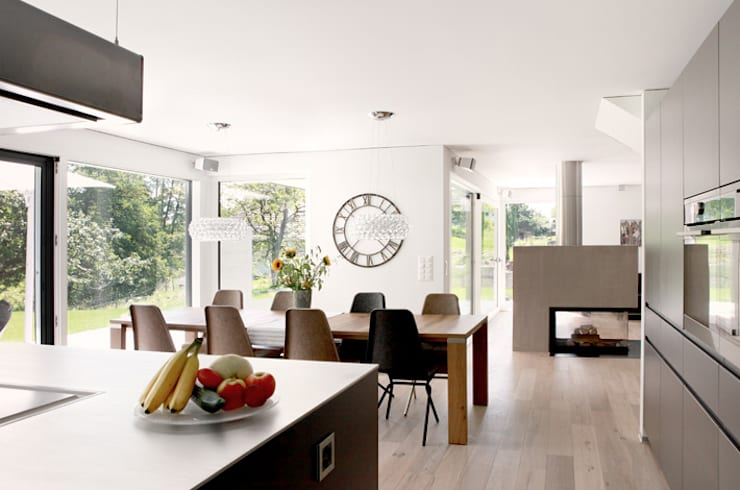 modern Dining room by Unica Architektur AG