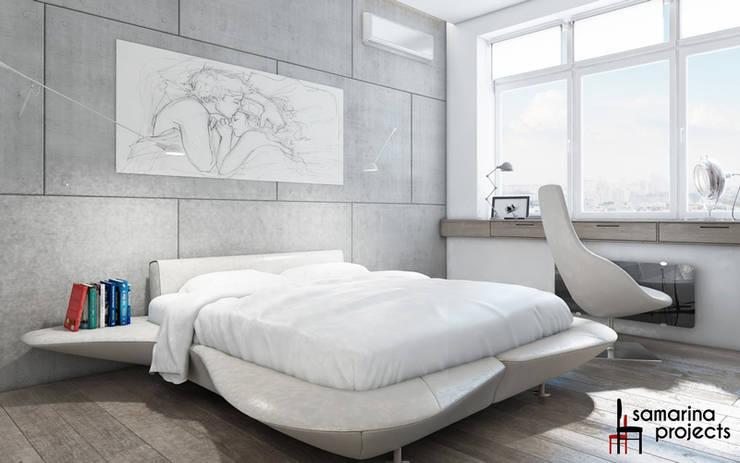 Kamar Tidur oleh Samarina projects, Industrial