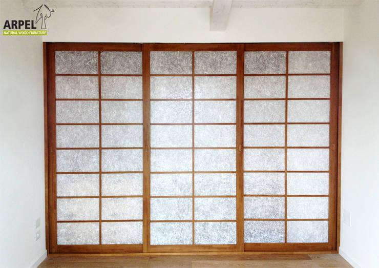 Cabine armadio su misura in stile giapponese von arpel homify