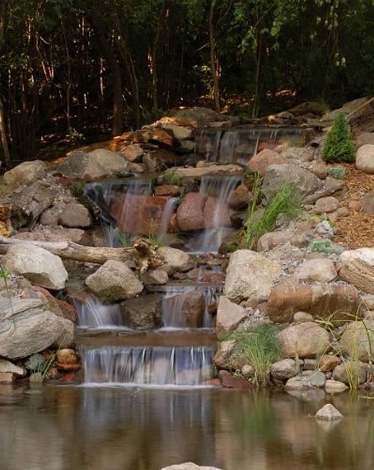 Bio Göl Havuz (Biyolojik Gölet ve Havuz Yapısalları) – Örnek Projeler:  tarz Bahçe, Asyatik