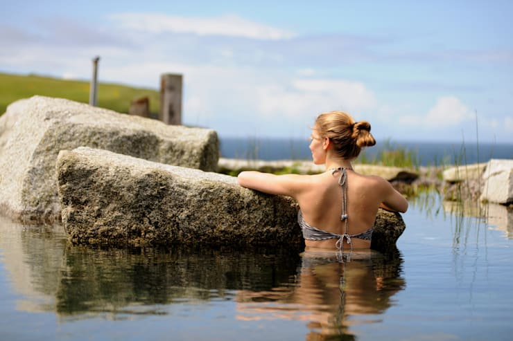 Bio Göl Havuz (Biyolojik Gölet ve Havuz Yapısalları) – Örnek Projeler:  tarz Bahçe, İskandinav