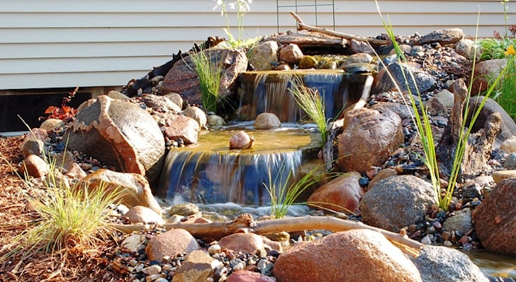 Bio Göl Havuz (Biyolojik Gölet ve Havuz Yapısalları) – Örnek Projeler:  tarz Bahçe, Kırsal/Country