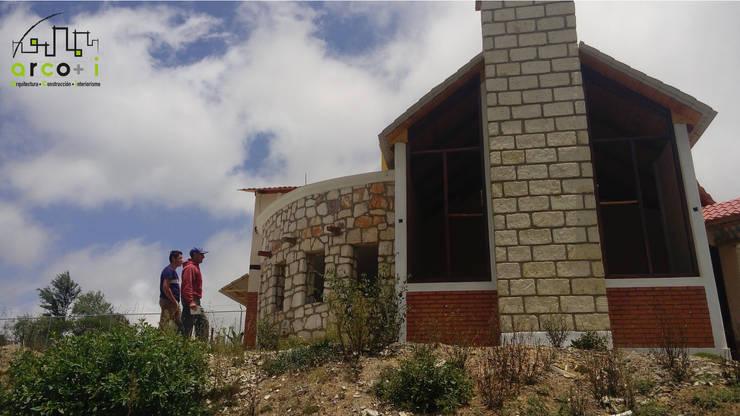 Cabaña de Descanso Casas rústicas de ARCO +I Rústico