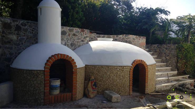 Casa de Descanso y Temazcal: Spa de estilo  por ARCO +I