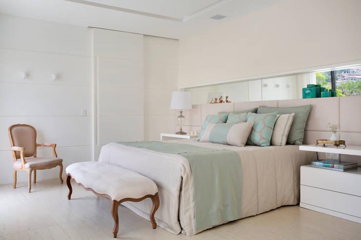غرفة نوم تنفيذ Amanda Miranda Arquitetura