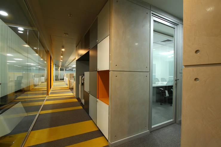 Circulation Corridor:   by DeFACTO Architects