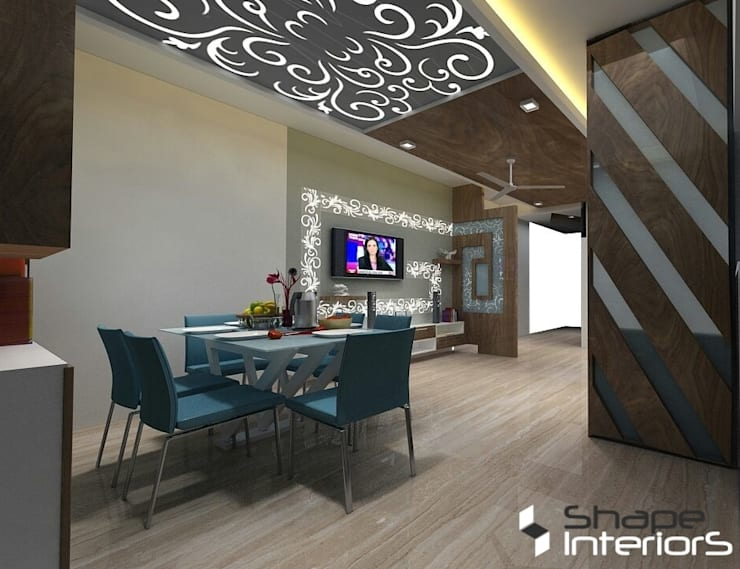 "Wooden ceiling: {:asian=>""asian"", :classic=>""classic"", :colonial=>""colonial"", :country=>""country"", :eclectic=>""eclectic"", :industrial=>""industrial"", :mediterranean=>""mediterranean"", :minimalist=>""minimalist"", :modern=>""modern"", :rustic=>""rustic"", :scandinavian=>""scandinavian"", :tropical=>""tropical""}  by Shape Interiors,"