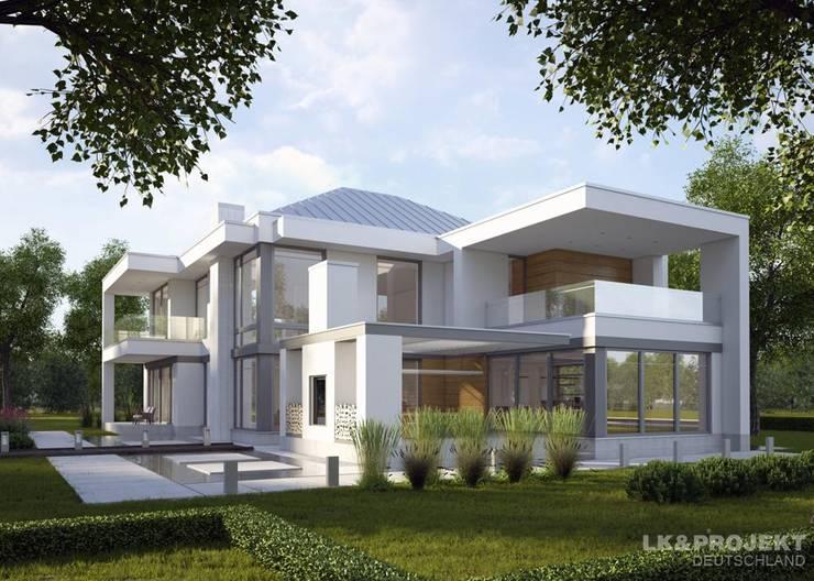 Projekty,  Domy zaprojektowane przez LK&Projekt GmbH