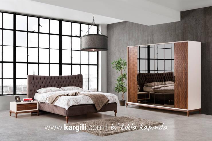 Kargılı Ev Mobilyaları – Efes Modern Yatak Odası Takımı:  tarz Yatak Odası