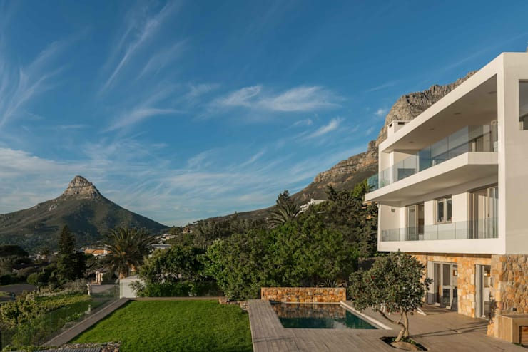 HOUSE I ATLANTIC SEABOARD, CAPE TOWN I MARVIN FARR ARCHITECTS Modern houses by MARVIN FARR ARCHITECTS Modern
