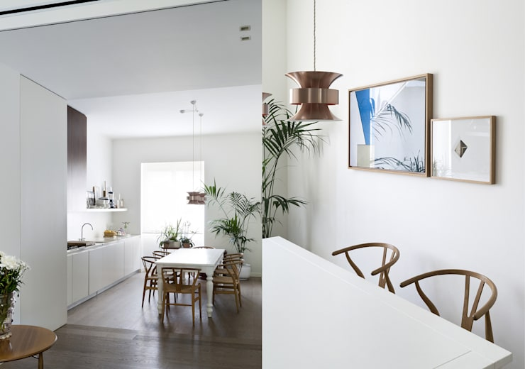 Projekty,  Kuchnia zaprojektowane przez Fabio Azzolina Architetto